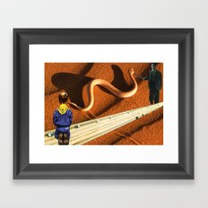 People Aren't Always Who They Appear To Be Framed Art Print