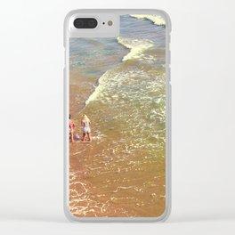 Rainbow Sea Clear iPhone Case