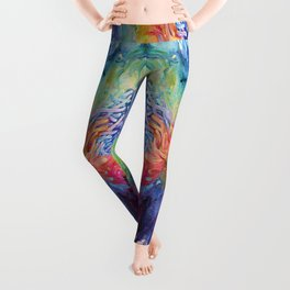 Coralized Leggings
