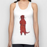 otter Tank Tops featuring Otter by Michalacaney