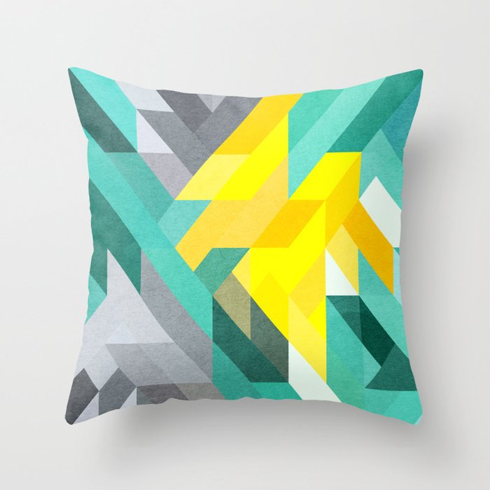 With nothing left to hide 1/3 Throw Pillow