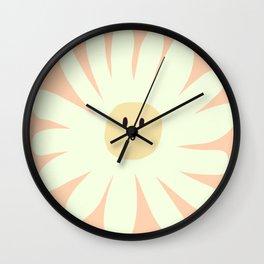 Daisy Face Wall Clock