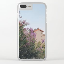 flower photography by KAL VISUALS Clear iPhone Case