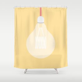 #74 Edison Globe Shower Curtain