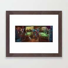 Super Bar Framed Art Print