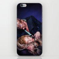 frankenstein iPhone & iPod Skins featuring Frankenstein by tillieke