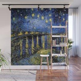 Van Gogh Starry Night Over the Rhône Wall Mural
