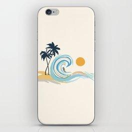 Minimalistic Summer II iPhone Skin