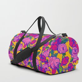 Water bears with Flowers Duffle Bag