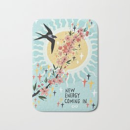 New energy coming in Bath Mat