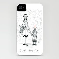 A Few Parisians by David Cessac: Quai Branly Slim Case iPhone (4, 4s)