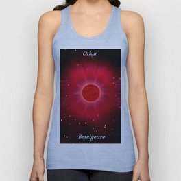Betelgeuse in Orion. Unisex Tank Top