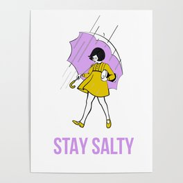 Stay Salty Poster