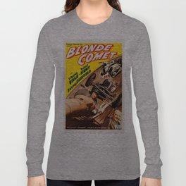 Vintage poster - Blonde Comet Long Sleeve T-shirt