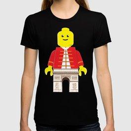 Arc De Triomphe Lego T-shirt