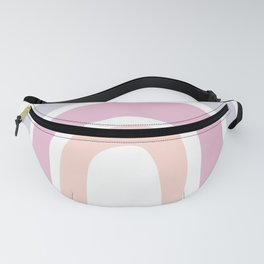 Pink and Purple Rainbow Fanny Pack