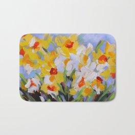 Daffodil Tangle Bath Mat