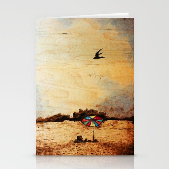 A Day at the Beach Stationery Cards
