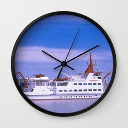 Spiekeroog 1 in Neuharlingersiel Wall Clock