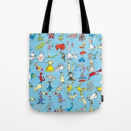 Dr. Seuss Characters Tote Bag