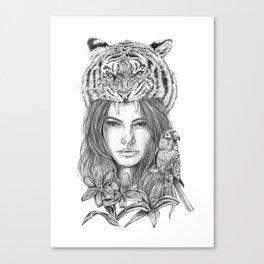 Tallulah Canvas Print