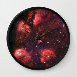 The Cat's Paw Nebula Wall Clock