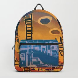 Time through Time, from Caves to Skyscraper, from Organic to Geometric Backpack