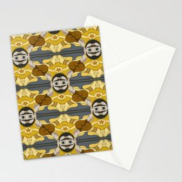 Unibrow Boxer Tessellation Stationery Cards