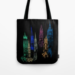 Squid Cathedrals Tote Bag