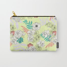 Sweet Floral Carry-All Pouch