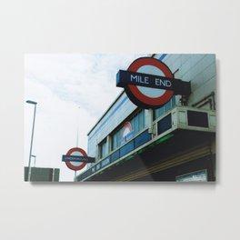 London - Mile End Metal Print