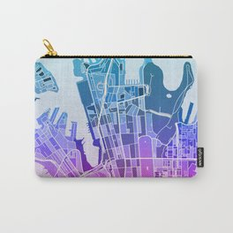 Sydney Map (Mosaic) Carry-All Pouch
