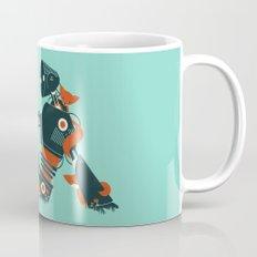 Foxes & The Robot Coffee Mug