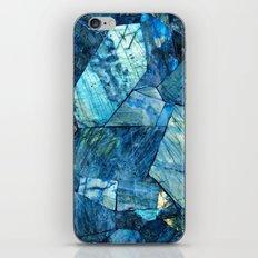 Labradorite Blue iPhone Skin