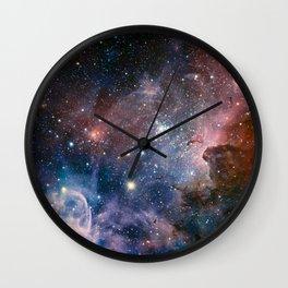 Carina Nebula Star Photography Wall Clock