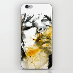 splash portraits iPhone & iPod Skin