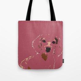 Pink Lady - Dachshund, Weiner Dog, Doxie, everywhere!   Tote Bag