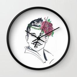 Dorian Flower Crown Wall Clock