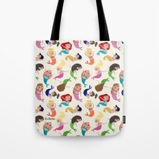 Baby Mermaids Tote Bag