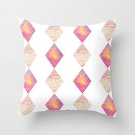 Secret Gems Throw Pillow