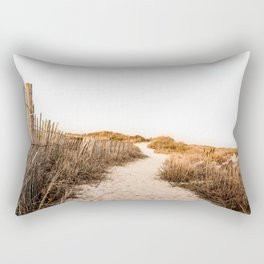 Sandy Beach Rectangular Pillow
