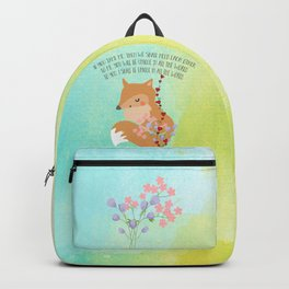 Tamed Fox Little Prince Backpack