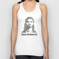 zlatan Tank Tops featuring Zlatan  by christoph_loves_drawing