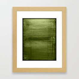 Sage Green Framed Art Print