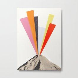 Eruption Metal Print