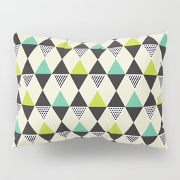 Geometric Pattern #48 (Mid-century) Pillow Sham