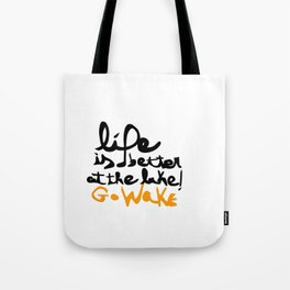 Quote Wakeboard 2 Tote Bag