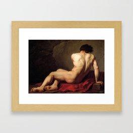Patroclus by Jacques-Louis David Framed Art Print