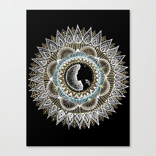Woman Mandala Canvas Print