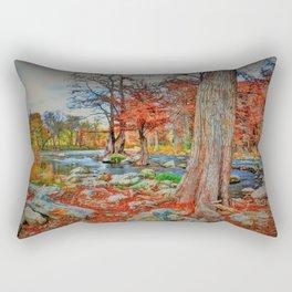 Texas Hill Country Autumn Rectangular Pillow
